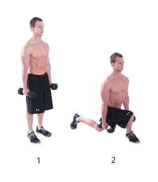 been oefeningen met gewichten