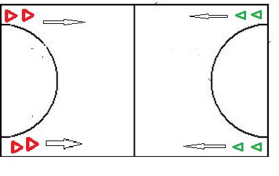 handbal oefeningen 3