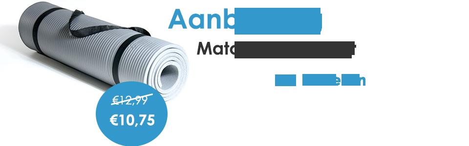 banner aanbieding Yoga mat